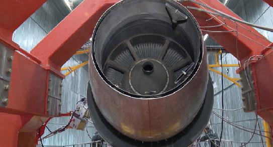 В Арамиле открылась испытательная станция авиадвигателей Д-36