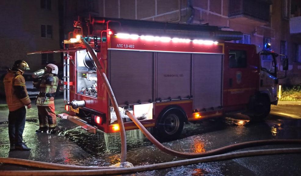 Ужасный пожар на Мичурина. Погибли два человека