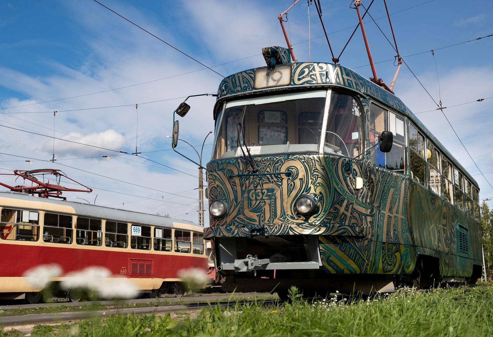 В центре закроют движение трамваев и автобусов на выходные