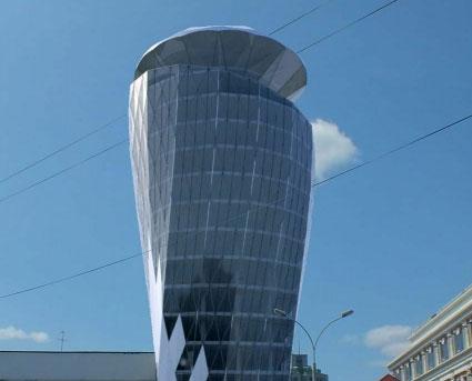 Проект башни с вращающимся верхом раскритиковали члены градсовета