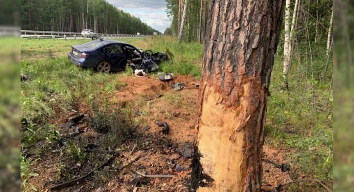 В выходные в ДТП на дорогах области погибло два человека