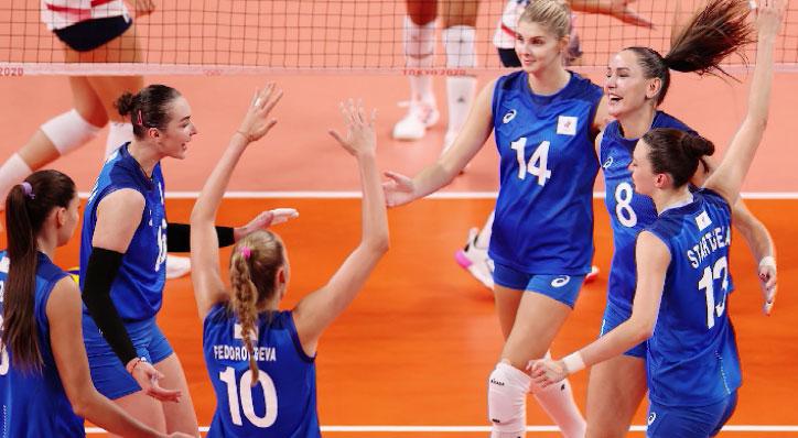 Сборная России по волейболу уступила команде Турции