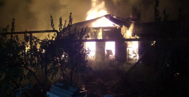 Пожар в Берёзовском