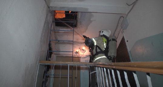 Пожар на Мичурина оставил людей без крыши над головой