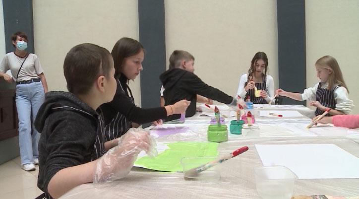 Международная выставка детских рисунков открылась в Екатеринбурге