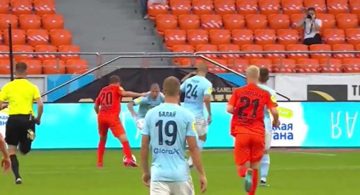 ФК «Урал» и «Нижний Новгород» сыграли вничью