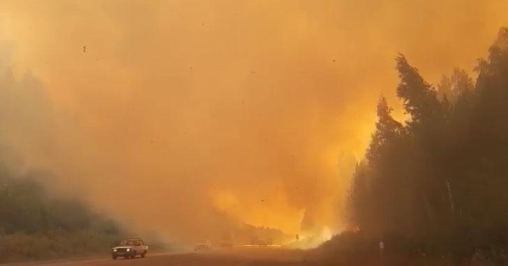 На Урале бушует больше полусотни природных пожаров
