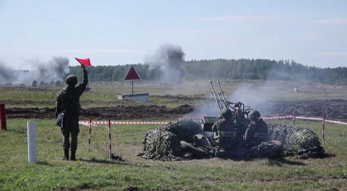 На полигоне Свердловский свою работу начал форум «Армия-2021»