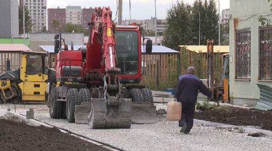 К 1 сентября строители не закончили возведение нового корпуса школы №167