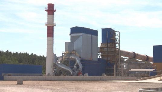 Под Сысертью начал работу новый цементный завод