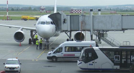 Самолёт, летевший из Симферополя, вынужденно сел в Екатеринбурге