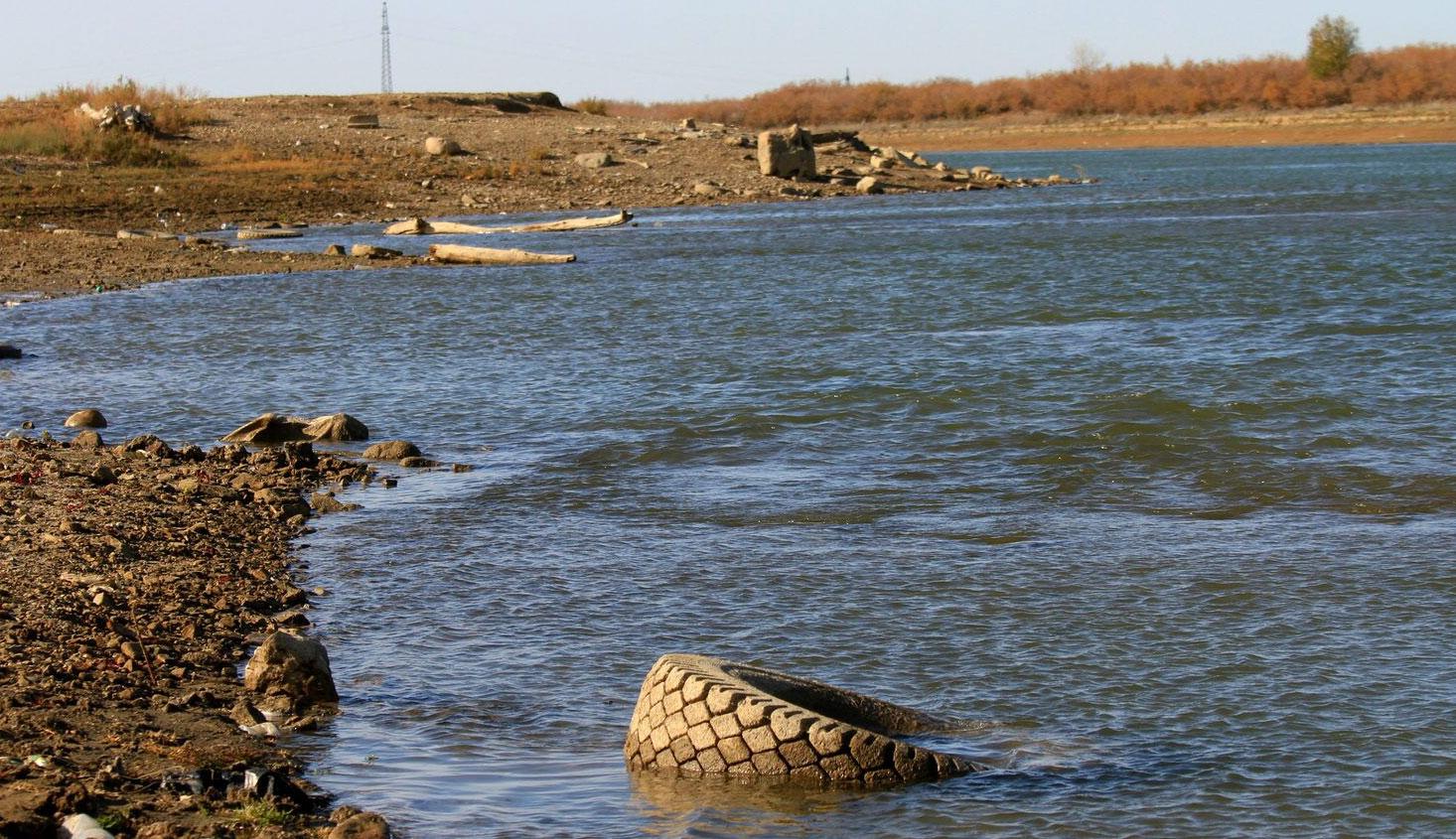 На Урале обмелели реки