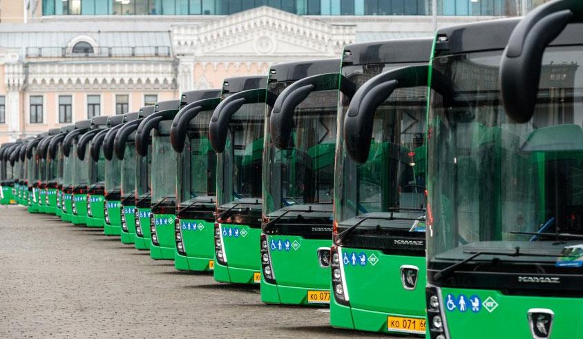 Екатеринбург получил новую партию автобусов