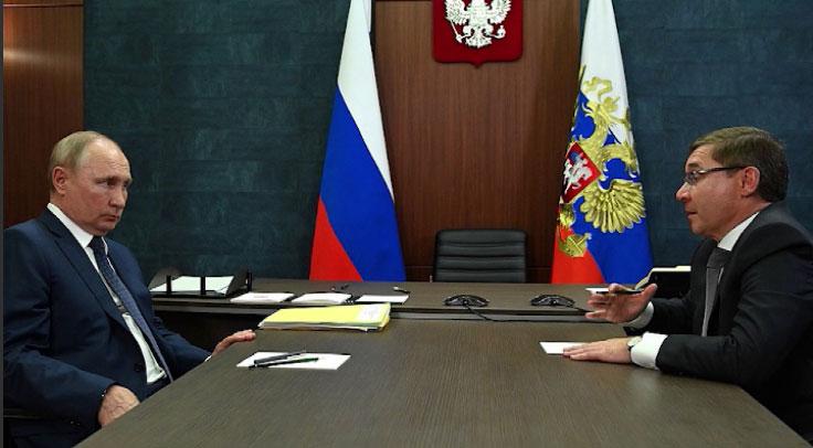 Владимир Путин провёл рабочую встречу с полпредом в УрФО