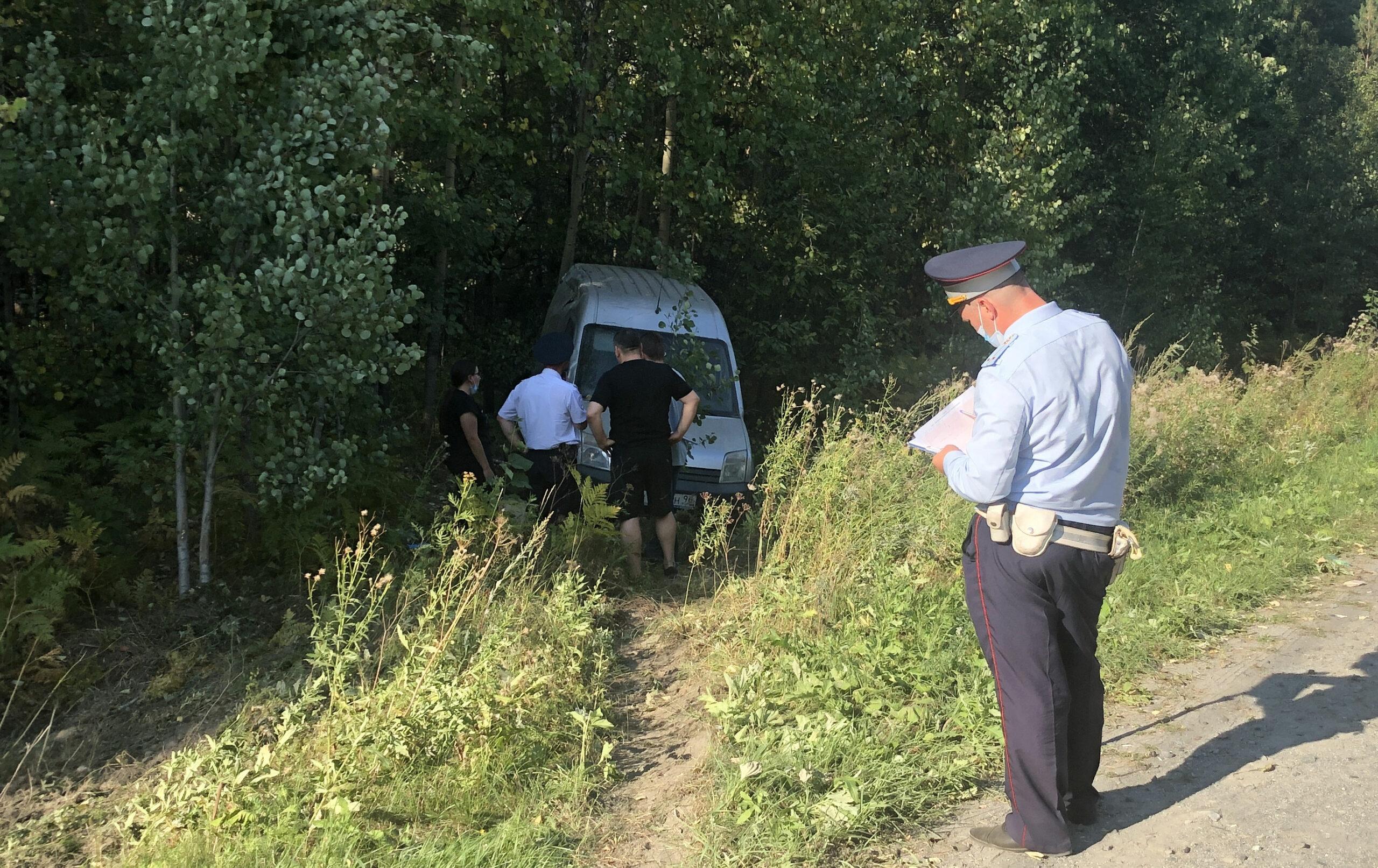 На Урале водитель погиб при попытке запрещенного обгона