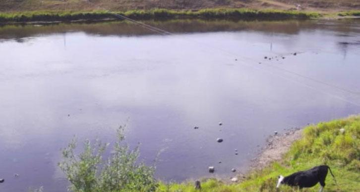 Из-за небывало жаркой погоды на Урале обмелели реки