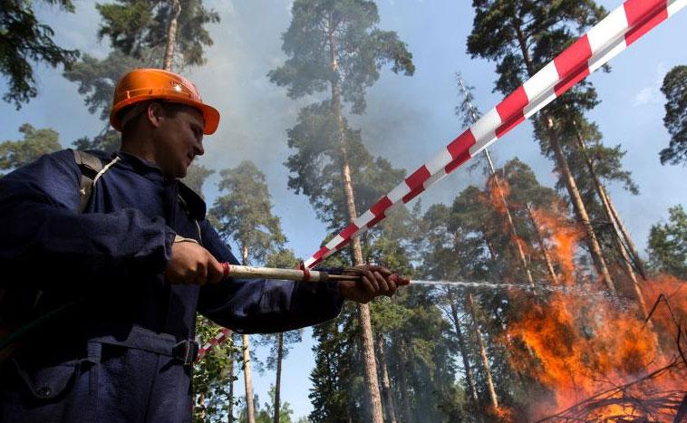 Прокуратура выясняет причину пожара под Первоуральском