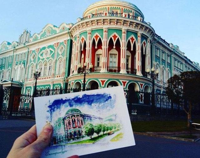 Подарочные открытки выпустят к 298-летию Екатеринбурга