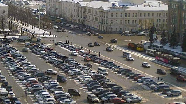 Площадь 1905 года могут превратить в общественное пространство