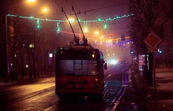 Закрыто движение троллейбусного маршрута №33