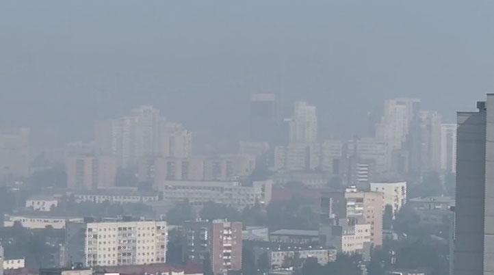 Уральскую столицу накрыла вторая волна смога