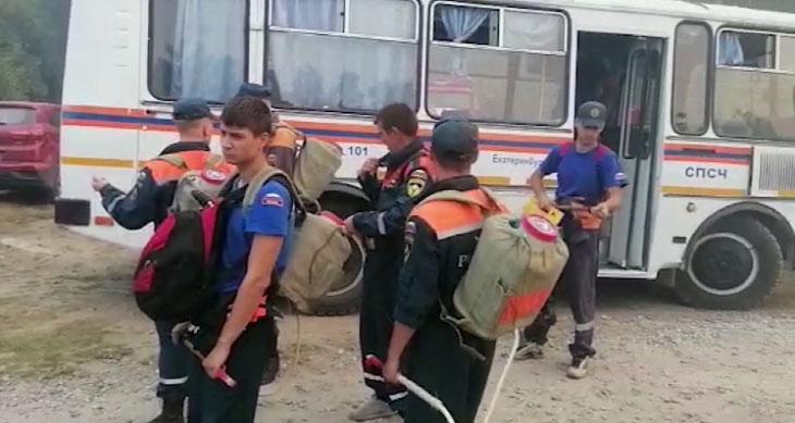 Спасатели эвакуировали первоуральских дачников
