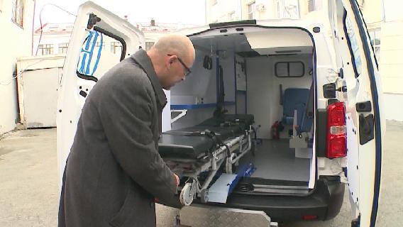 Новый транспорт для уральских врачей