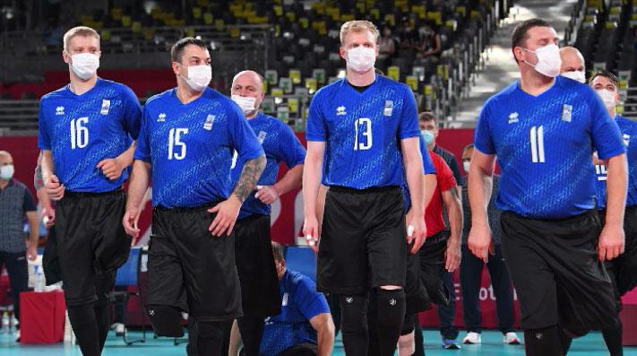 В Токио сборная по волейболу сидя обыграла команду Египта