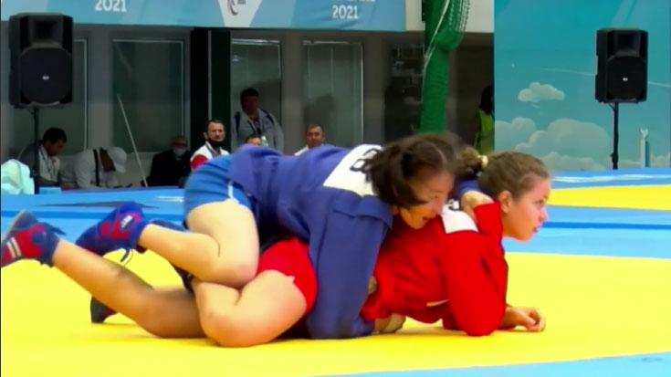 Екатерина Цыберт завоевала золотую медаль на Играх стран СНГ