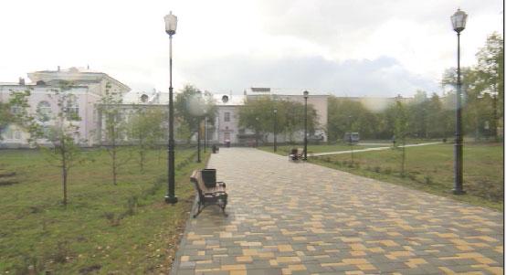 В Полевском после реконструкций открылся городской парк
