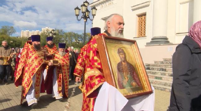 В Екатеринбурге отметили День памяти Александра Невского