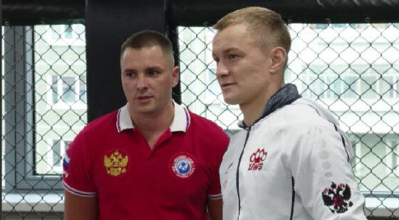 Мастер-класс для юных спортсменов провёл Денис Лаврентьев