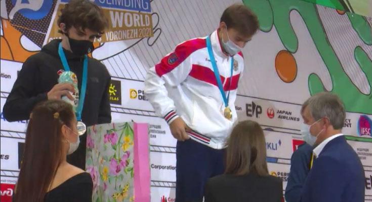 Свердловские скалолазы завоевали три золотых медали на первенстве мира