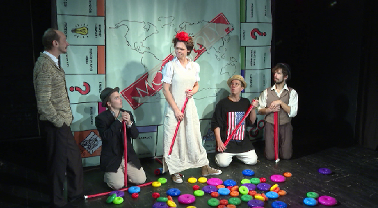 На сцене ЦСД Алексей Федорченко представит постановку «Как я обманул всех и Бога»