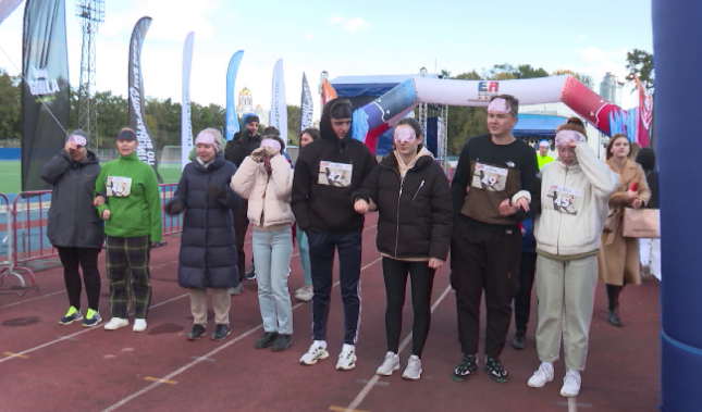 В Екатеринбурге прошел инклюзивный забег «Без границ»