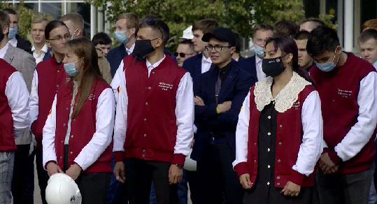 В Верхней Пышме начало учебного года отпраздновали студенты Технического университета