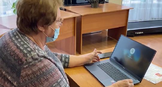 Уральская пенсионерка получила в подарок новый ноутбук