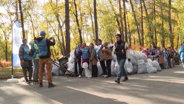 В Екатеринбурге финишировал автопробег «Чистая страна»