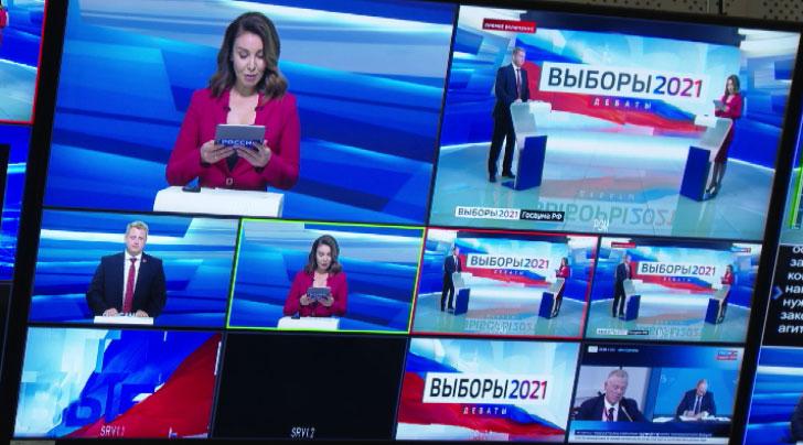 На телевидении и радио начались предвыборные дебаты