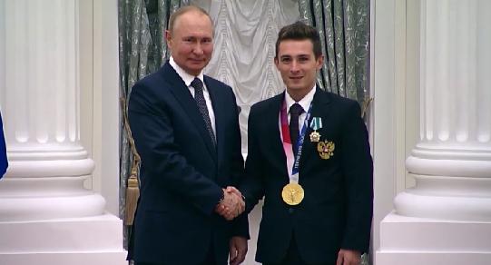 Владимир Путин вручил Давиду Белявскому Орден Дружбы