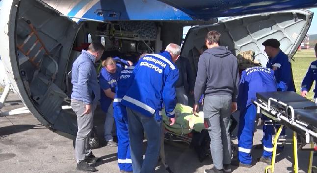 В Иркутскую областную больницу доставили уральского пилота