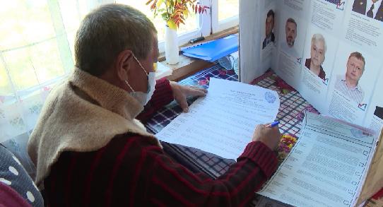 Досрочное голосование началось в Свердловской области