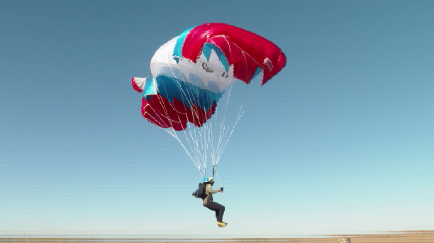В Логиново проходит Чемпионат УрФО по парашютному спорту