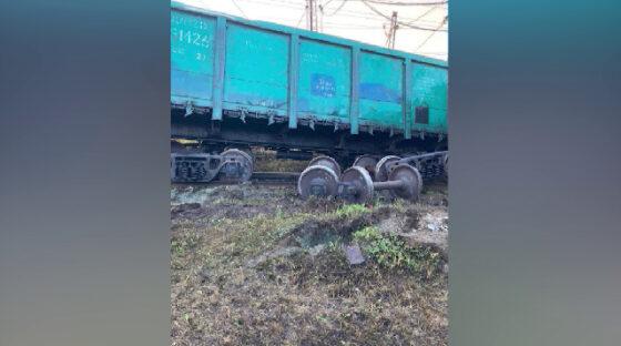 В Кушве с путей сошли три вагона