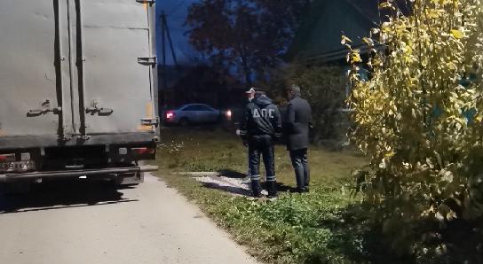 В Кедровке под колёсами фуры погиб  ребёнок