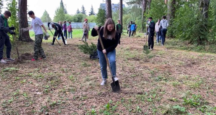 Екатеринбуржцы присоединились к акции «Сохраним лес»