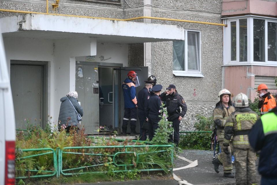 На Уралмаше в многоэтажке произошёл взрыв газа