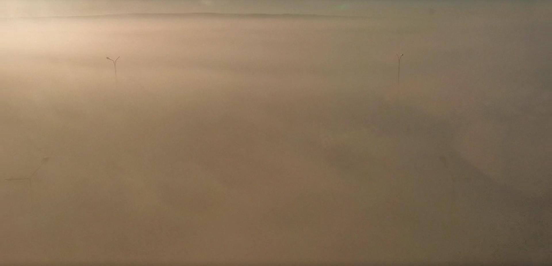 Екатеринбург утром накрыло плотным смогом