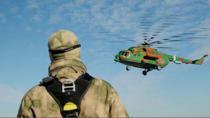 Спуск с вертолета без парашюта отработали уральские военные