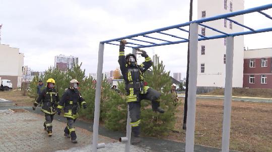 Полоса препятствий для подготовки специалистов газодымозащиты появилась в Екатеринбурге